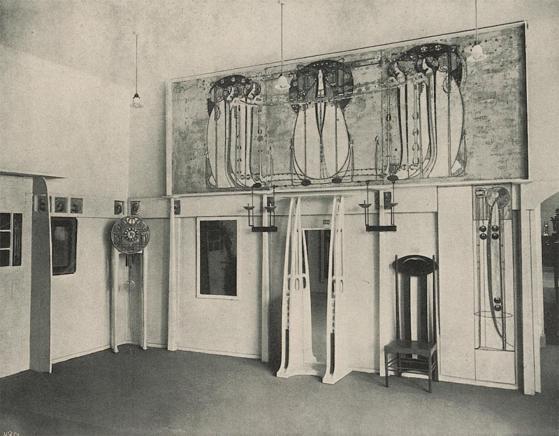 Mackintosh architecture the catalogue images for Innendekoration heidelberg