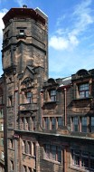 Photograph of Glasgow Herald Building tower from S.W.