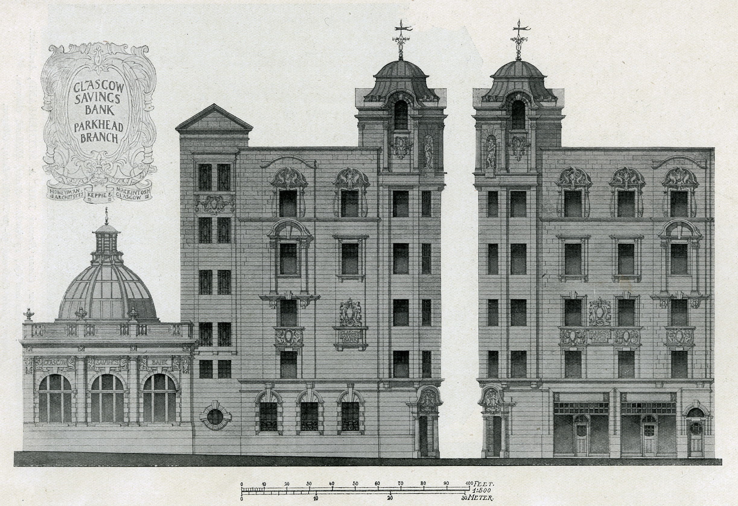 Mackintosh architecture the catalogue drawing image Full size architectural drawings